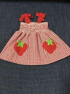 New🍓 strawberry 🍓dress