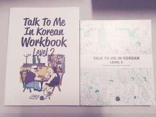 [Talk To Me In Korean] Level 2 Textbook + Workbook