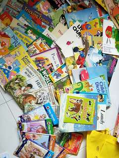 Children early reader preschoolers story books 95 titles