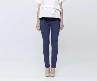Hello Lilo Blue Maternity Jeans