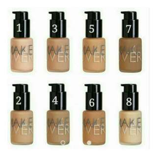 Make Over Ultra Cover Liquid Foundation