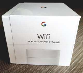 WTS: Brand New, Unopened 1 x Google WiFi (local Starhub set)