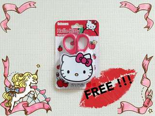 FREE Hello Kitty Scissors By Sanrio June 2018 Promo