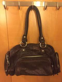 Elle leather bag