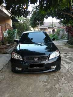Honda Civic Vtis 2005 matic hitam