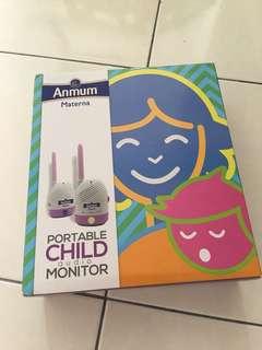 Anmum Child Audio Monitor (2 x 9V batteries)
