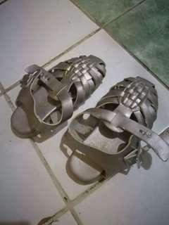 Kid's Silver Flats