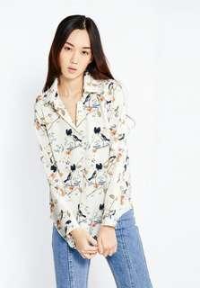 Pomelo bird shirt