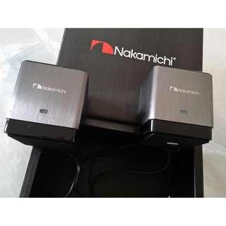 "Nakamichi ""My Sound Cube"" computer speakers"