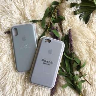Apple Silicone Case iPhone 5 6 plus 7 8 plus X