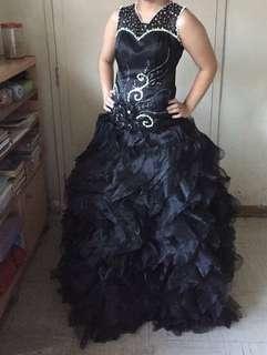 Black Ballroom Gown