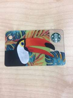 Starbucks Card Mini Toucan Design