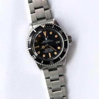 Vintage Rolex 1665 Seadweller w/ Box & RSC Letter