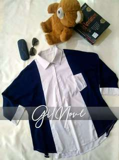 Royal Blue Button Up Long Sleeves