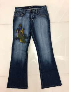 Fashion flared jeans
