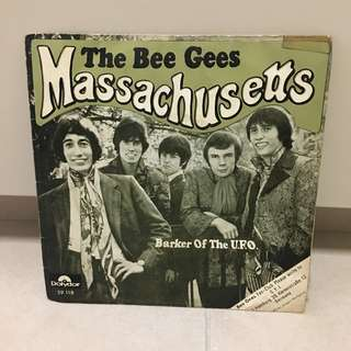The Bee Gees Massachusetts vintage record