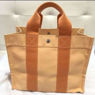 Authentic Hermes Fourre Tout Tote Bag