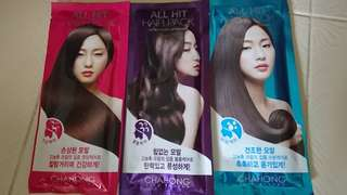 CHAHONG ALL HIT HAIR PACK - DAMAGE CARE, VOLUME CARE,  MOISTURE CARE