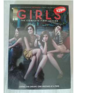 Girls Season 1 DVD (code 3)