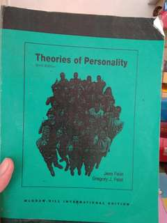 Theories of Personality - fotocopy