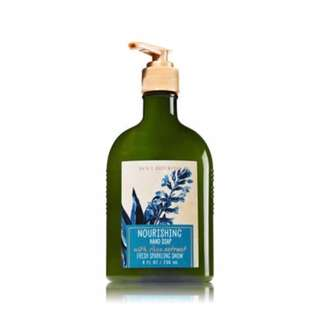 Bath and Body Works Fresh Sparkling Snow Nourishing Hand Soap with Shea Extract 236ml
