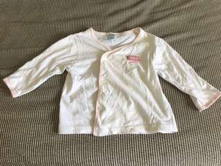 Long sleeves shirt (size 6-12 months)