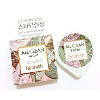 HEIMISH - HEIMISH ALL CLEAN BALM [TRIAL] 5ml
