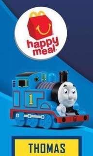 BN New Macdonald Thomas and & Friends Train Toy 2018 Gordon Mac Happy Meal