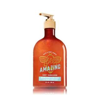 Bath and Body Works Bee Amazing Honey Sandalwood Nourishing Hand Soap with Honey Butter 236ml