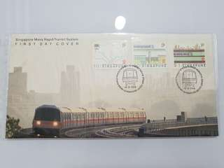 First Day Cover SMRT 1988