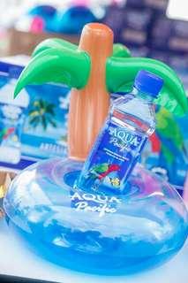 全新迷你斐濟群島椰樹棕櫚樹吹氣飲品座Aqua Pacific / Inflatable drinks cup holder