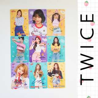 35期 twice yescard