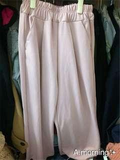 🚚 粉紅寬褲