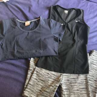 Work out clothes set