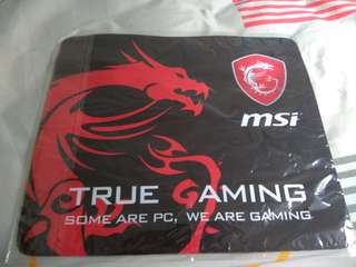 MSI gaming mouse pad (selling urgent)