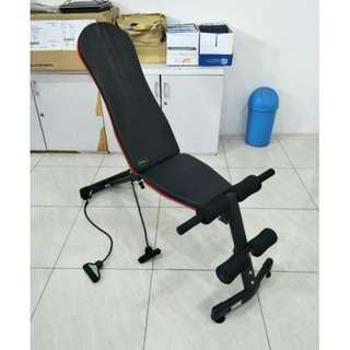 Alat Fitness Multi-adjustable Bench 3 In 1 Papan Sit Up 3 Gerakan
