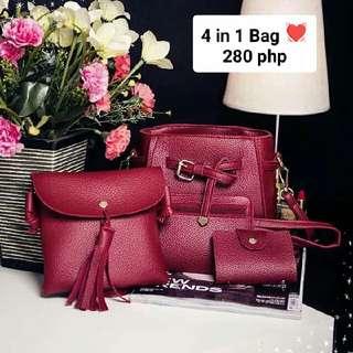 4 In 1 Bag 💓