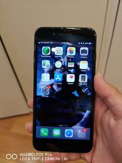 Apple iphone 7+ 256GB matte black