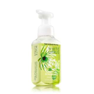 Bath & Body Works White Citrus Gentle Foaming Hand Soap 259ml