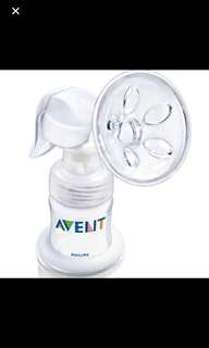 Free for blessing to bless Preloved Philips Avent Manual Breast Pump