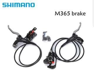 ***In Stock - Shimano BR-M365 Hydraulic Brake Set