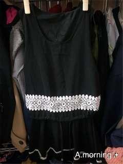 🚚 無袖黑色洋裝