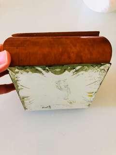 Vintage 木煙盒