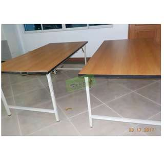 FOLDABLE TRAINING TABLES 180Wx90Dcm--KHOMI