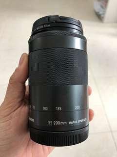 Camera lense 55-200 EF-M