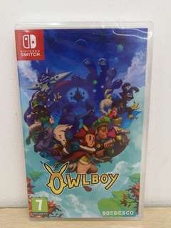 (Brand New) Nintendo Switch OwlBoy