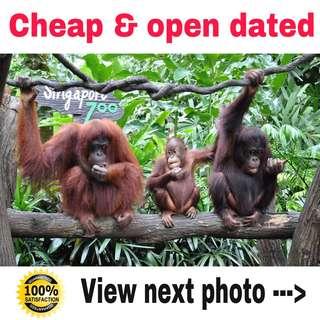 Cheap Singapore Zoo Tickets