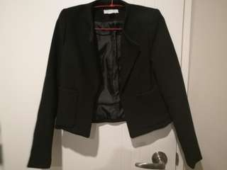 H&M women formal black blazer