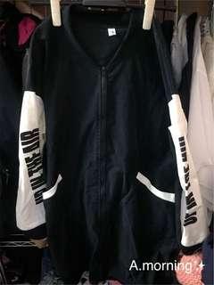 🚚 棒球長版外套