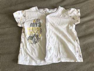 Shirts / top - grey (size 3 to 6 months)